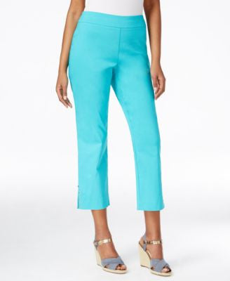 JM Collection Pull-On Cropped Pants, Only at Vogily