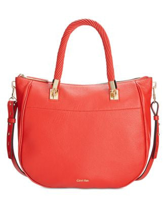 Calvin Klein Premium Leather Shopper
