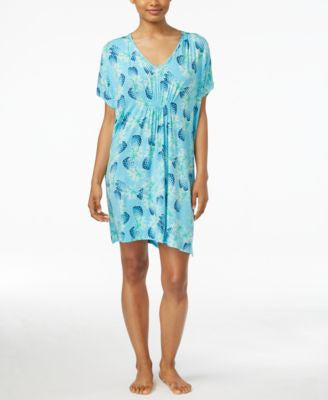 Hue Pineapple Luau Short Caftan