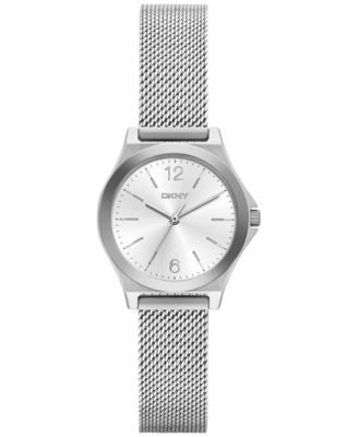 DKNY Women's Parsons Stainless Steel Mesh Bracelet Watch 30mm NY2488