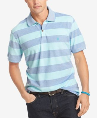 IZOD Men's Oxford Stripe Polo