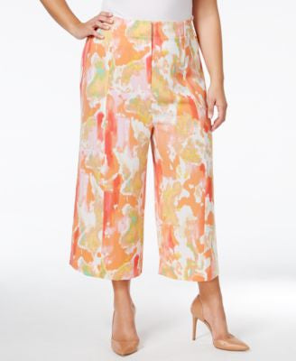 Melissa McCarthy Seven7 Trendy Plus Size Cropped Culottes