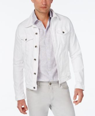 GUESS Men's Dillon Lounge Denim Jacket