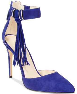Nine West Everafter Fringed Two-Piece Pumps