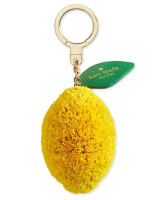 kate spade new york Lemon Keychain