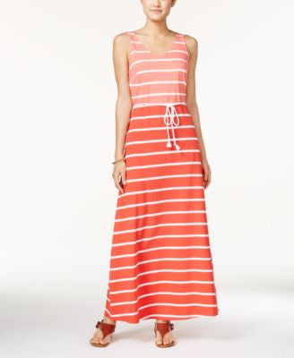 Tommy Hilfiger Ramona Striped Maxi Dress
