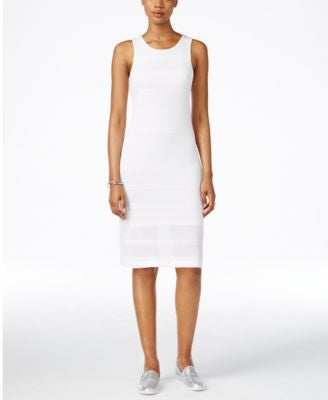 Armani Exchange Sleeveless Midi Dress