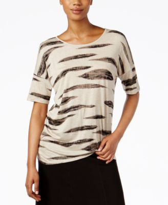 kensie Animal-Print T-Shirt