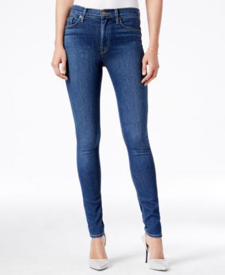 Hudson Jeans Barbara High-Waist Skinny Jeans, Down Pour Wash