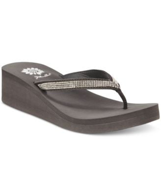 Yellow Box Venus Wedge Flip-Flops