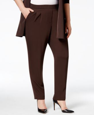 Calvin Klein Plus Size Soft Pull-On Pants