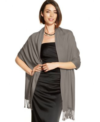 INC International Concepts Satin Pashmina Wrap, only at Vogily