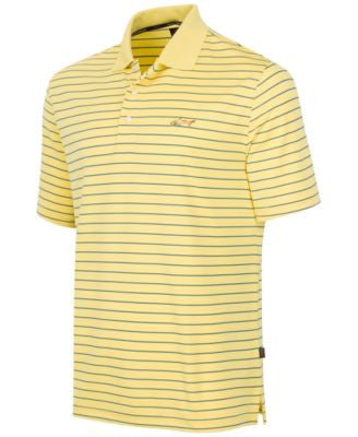 Greg Norman for Tasso Elba Men's 5 Iron Performance Striped Golf Polo