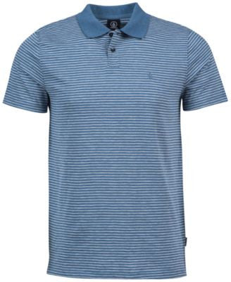 Volcom Men's Wowzer Striped Polo