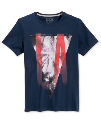 GUESS Men's Cities Graphic-Print T-Shirt