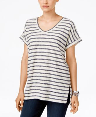 Style & Co. Petite Striped Top, Only at Vogily