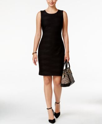 Tommy Hilfiger Textured Sheath Dress, A Vogily Exclusive Style