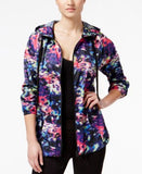 Material Girl Active Juniors' Printed Hooded Jacket, Only at Vogily