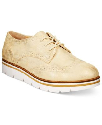 White Mountain Praise Lace-Up Oxfords