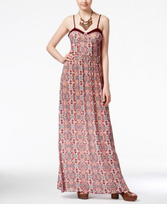 American Rag Printed Maxi Dress, Only at Vogily