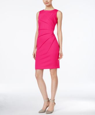 Calvin Klein Starburst Sleeveless Sheath Dress