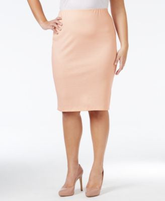 Stoosh Plus Size Pencil Skirt