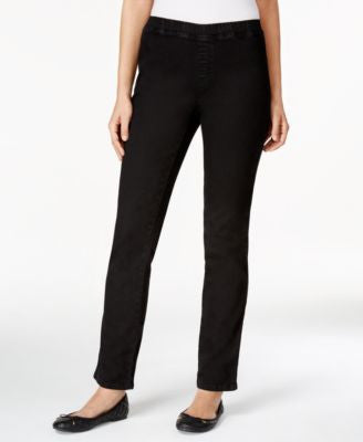 Karen Scott Petite Straight-Leg Pants, Only at Vogily