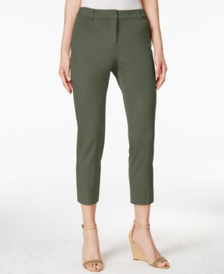 Charter Club Petite Straight-Leg Cropped Pants, Only at Vogily
