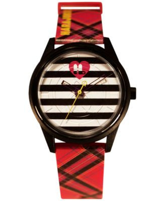 Harajuku Lovers Unisex Animal Print Designed by Gwen Stefani Printed Polyurethane Strap Watch 40mm H