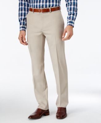 Alfani Men's Slim-Fit Flat-Front Pants, Only at Vogily