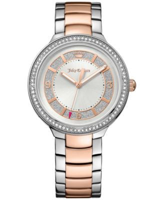 Juicy Couture Women's Catalina Two-Tone Stainless Steel Bracelet Watch 36mm 1901419