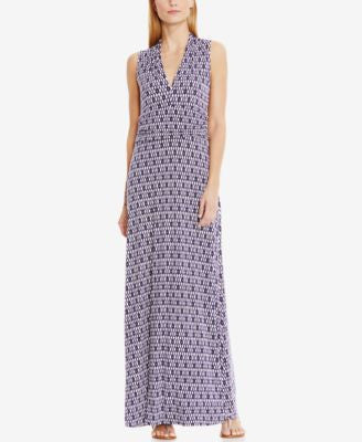 Vince Camuto Sleeveless Printed Maxi Dress