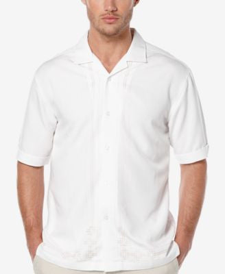 Cubavera Men's Embroidered Short-Sleeve Shirt