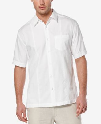Cubavera Men's Seersucker Embroidered Short-Sleeve Shirt