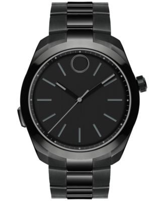 Movado Men's Swiss Bold Motion Black Ion-Plated Stainless Steel Smartwatch 44mm 3660004