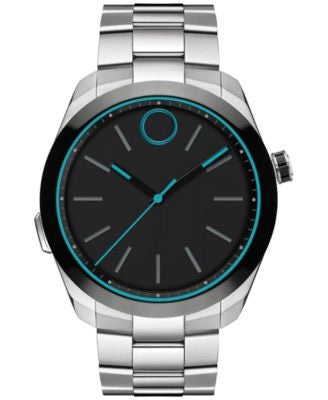 Movado Men's Swiss Bold Motion Stainless Steel Smartwatch 44mm 3660003