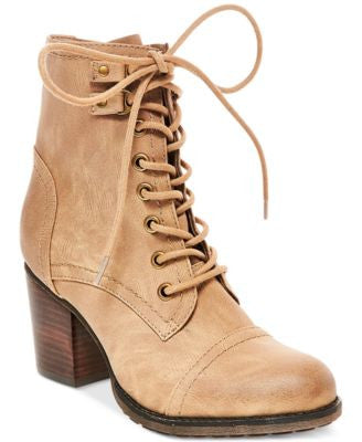 Madden Girl Wilmar Lace-Up Hiker Booties