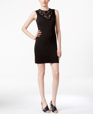 Calvin Klein Petite Embroidered Sheath Dress