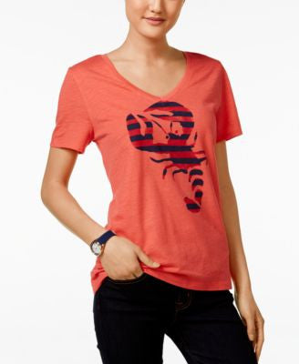 Tommy Hilfiger Lobster Graphic T-Shirt