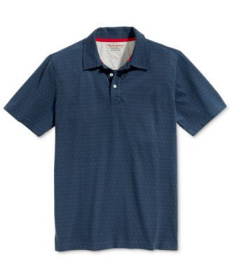 Weatherproof Men's Dot Jacquard Polo