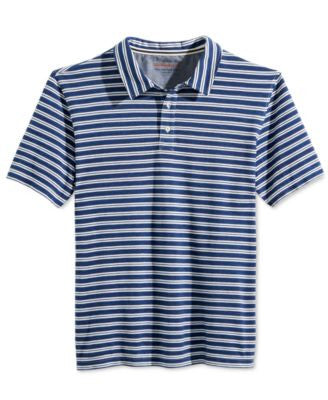 Weatherproof Men's Stripe Polo