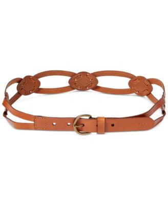 Lauren Ralph Lauren Skinny Braid Belt