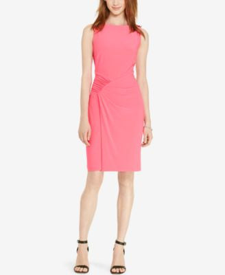 Lauren Ralph Lauren Ruched Jersey Dress