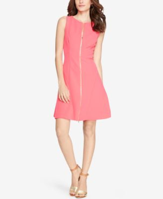 Lauren Ralph Lauren Petite Crepe Fit & Flare Dress