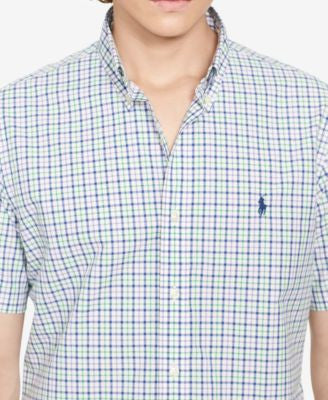 Polo Ralph Lauren Men's Tattersall Poplin Sport Shirt