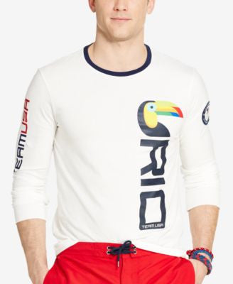 Polo Ralph Lauren Men's Team USA Long-Sleeve T-Shirt