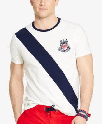Polo Ralph Lauren Team USA Custom-Fit T-Shirt