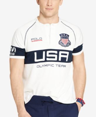 Polo Ralph Lauren Men's Team USA Custom-Fit Rugby Shirt