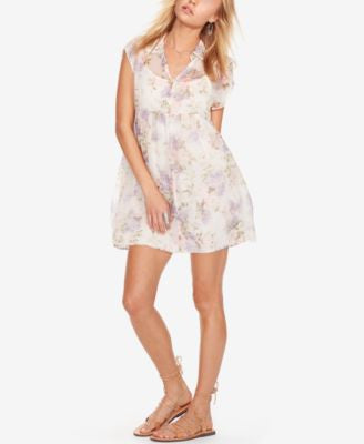 Denim & Supply Ralph Lauren Floral-Print Empire Shirtdress