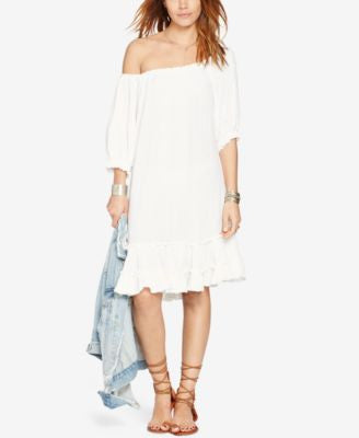Denim & Supply Ralph Lauren Ruffled Gauze Dress